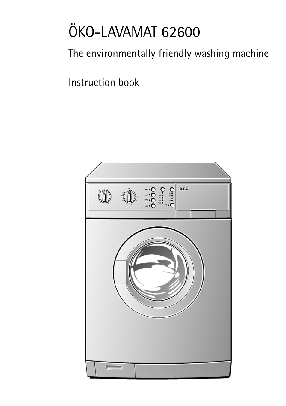aeg lavamat 62600 user manual 52 pages rh manualsdir com aeg washing machine service manual aeg 8000 series washing machine user manual
