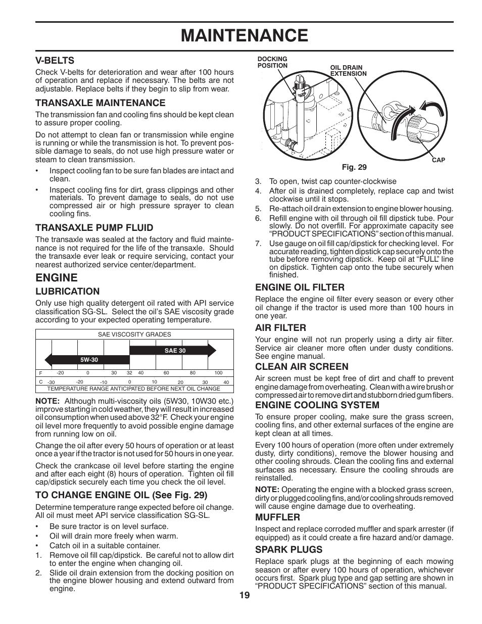maintenance engine engine oil filter poulan pro pb26h54yt lawn rh manualsdir com Manual Car Cessna MAINTEANCE Manual