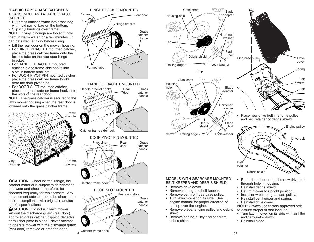 poulan pro pr625y22rkp lawn mower user manual