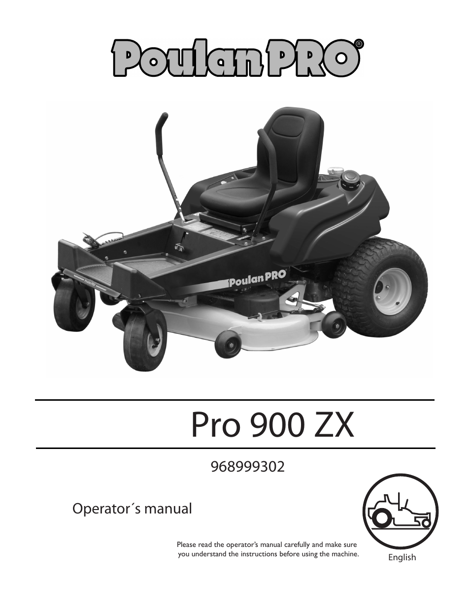 Poulan Pro Wiring Diagrams Riding Lawn Mower Diagram 900 Zx 968999302 User Manual 80 Pages Zero Turn