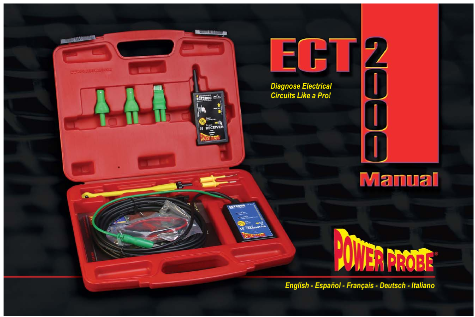 Power Probe ECT 2000 User Manual | 27 pages