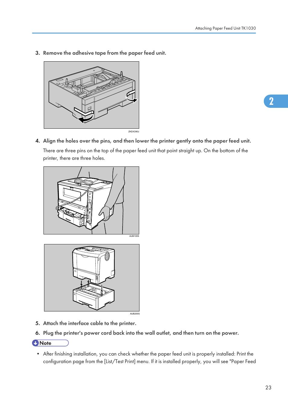 Ricoh Aficio SP 4110N User Manual | Page 25 / 204 | Original