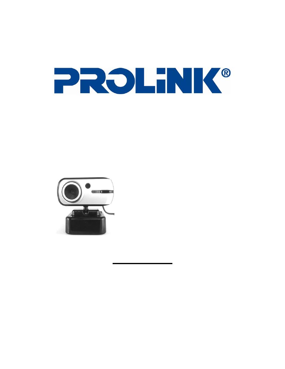 PROLiNK PCC8020 Series Camera Drivers List