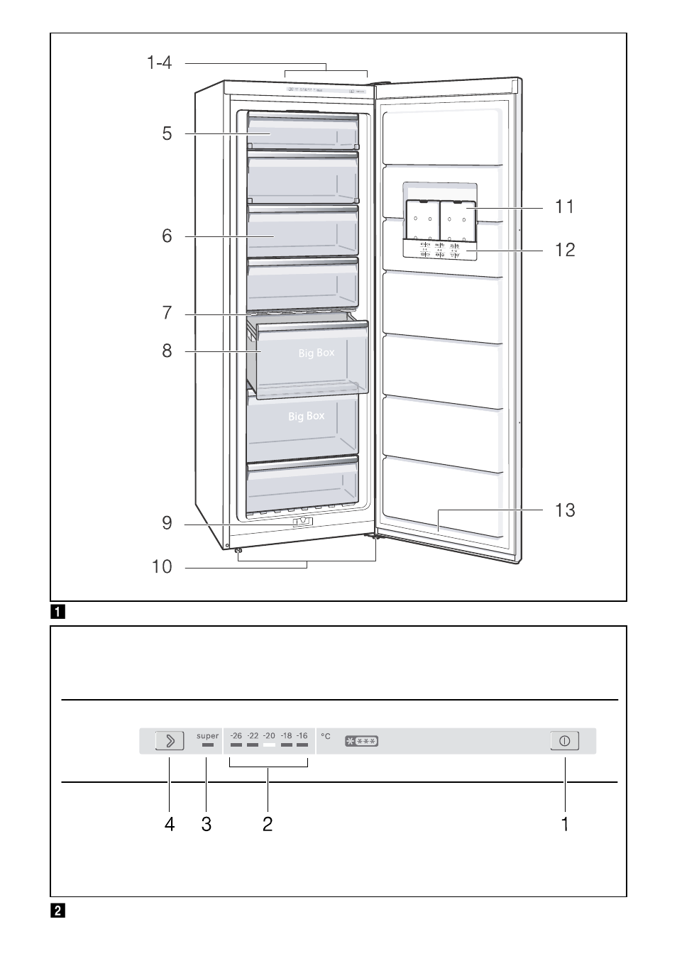 Bosch gsv33vw30 cong lateur armoire confort user manual for Frigidaire armoire
