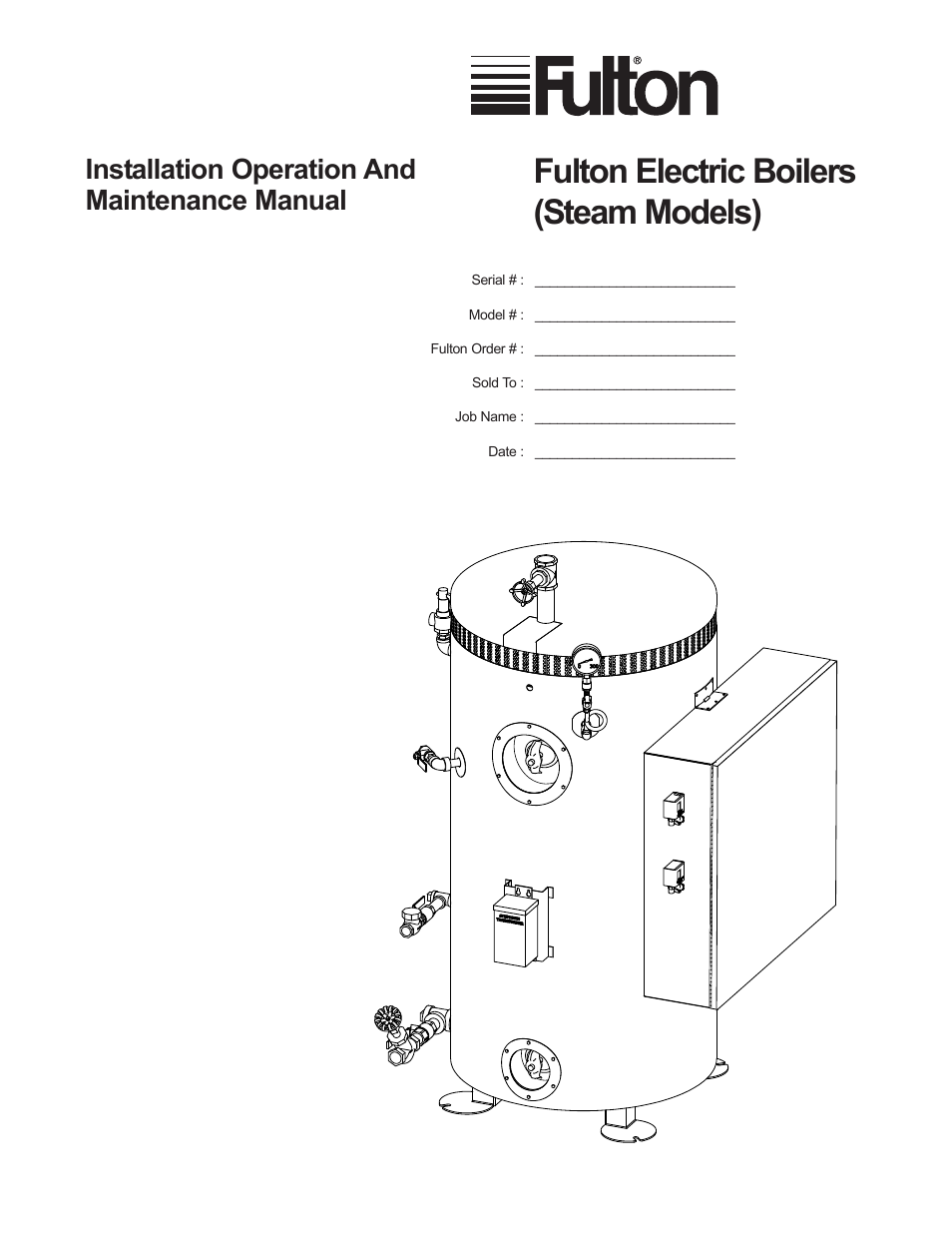 fulton electric fb l steam boiler page1 fulton electric (fb l) steam boiler user manual 46 pages steam boiler wiring diagram at panicattacktreatment.co