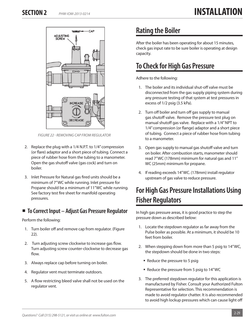 Fulton Gas Boiler Wiring Diagram Great Installation Of System Rating The Pulse Hw Phw Fully Rh Manualsdir Com Home Hot Water