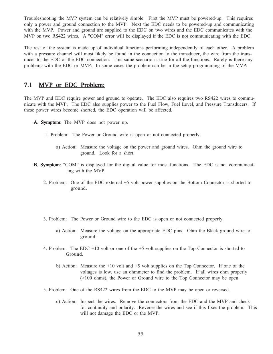 Electronics International MVP-50T User Manual | Page 54 / 79