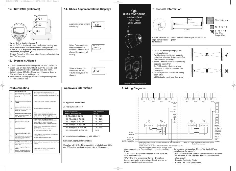 General Information  En Quick Start Guide  Wiring Diagrams