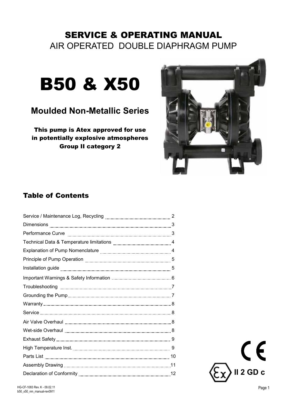 Blagdon pump x50 non metallic user manual 12 pages also for b50 blagdon pump x50 non metallic user manual 12 pages also for b50 non metallic ccuart Images