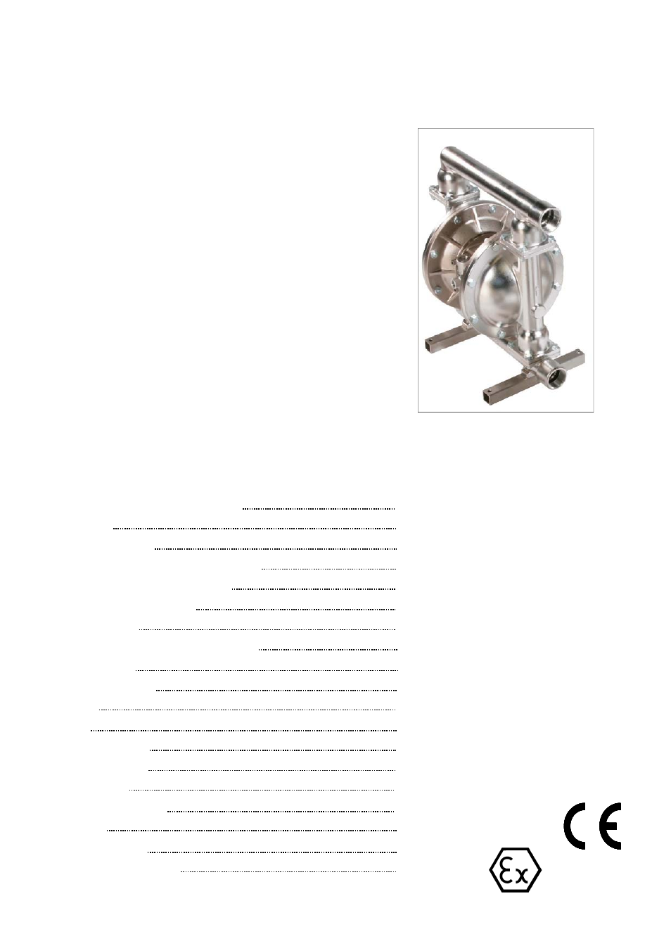 Blagdon pump x40 fda user manual 12 pages also for b40 fda ccuart Images