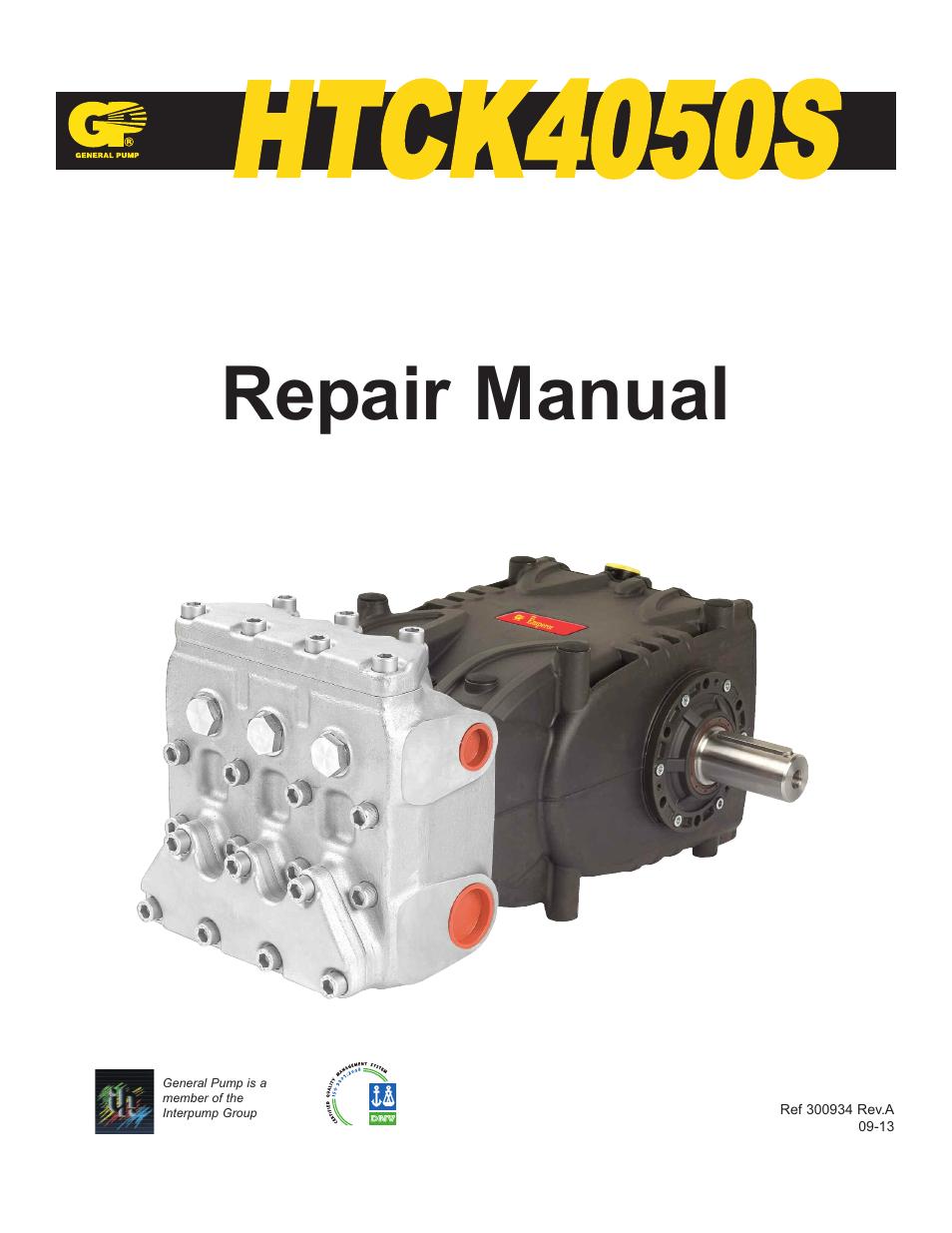 general pump htck4050s user manual 19 pages rh manualsdir com  Operating Tools