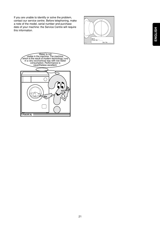english zanussi fa 523 user manual page 21 42 rh manualsdir com User Manual PDF Instruction Manual