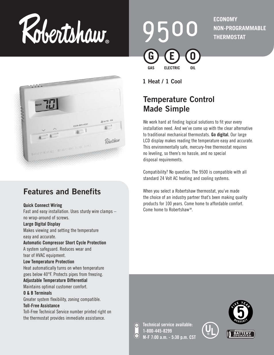 robertshaw-9500-page1 Robertshaw Digital Thermostat Wiring Diagram on commercial defrost timer wiring diagram, robertshaw 9620 thermostat wiring layout, watts thermostat wiring diagram, york thermostat wiring diagram, luxaire thermostat wiring diagram, trane thermostat wiring diagram, suntouch thermostat wiring diagram, wards thermostat wiring diagram, frigidaire thermostat wiring diagram, electric baseboard heater thermostat wiring diagram, honeywell thermostat wiring diagram, split system heat pump wiring diagram, ecobee thermostat wiring diagram, fedders thermostat wiring diagram, portable heater wiring diagram, comfortmaker thermostat wiring diagram, emerson thermostat wiring diagram, programmable thermostat wiring diagram, johnson controls thermostat wiring diagram, coleman thermostat wiring diagram,