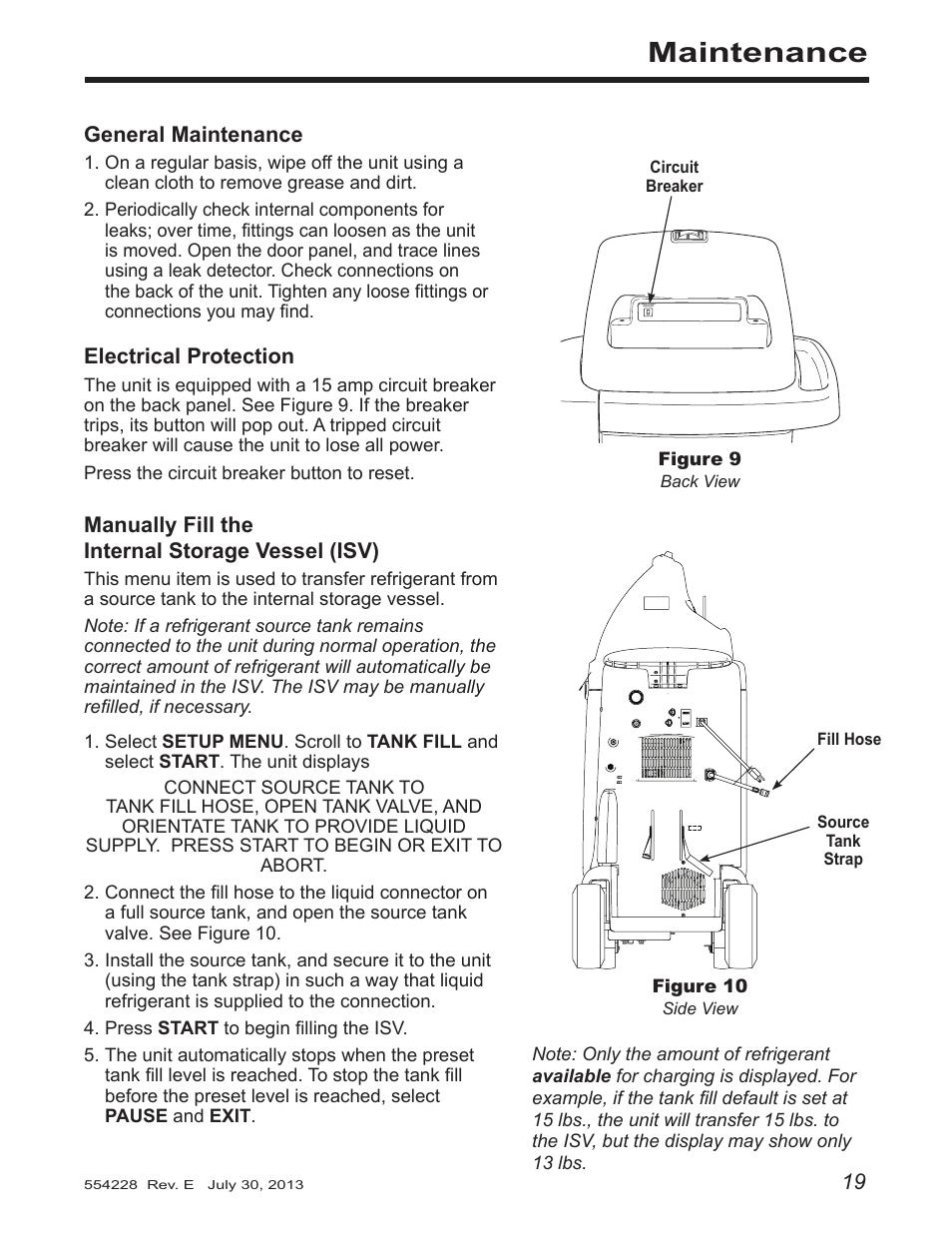 maintenance robinair 34988 recovery recycling recharging unit rh manualsdir com