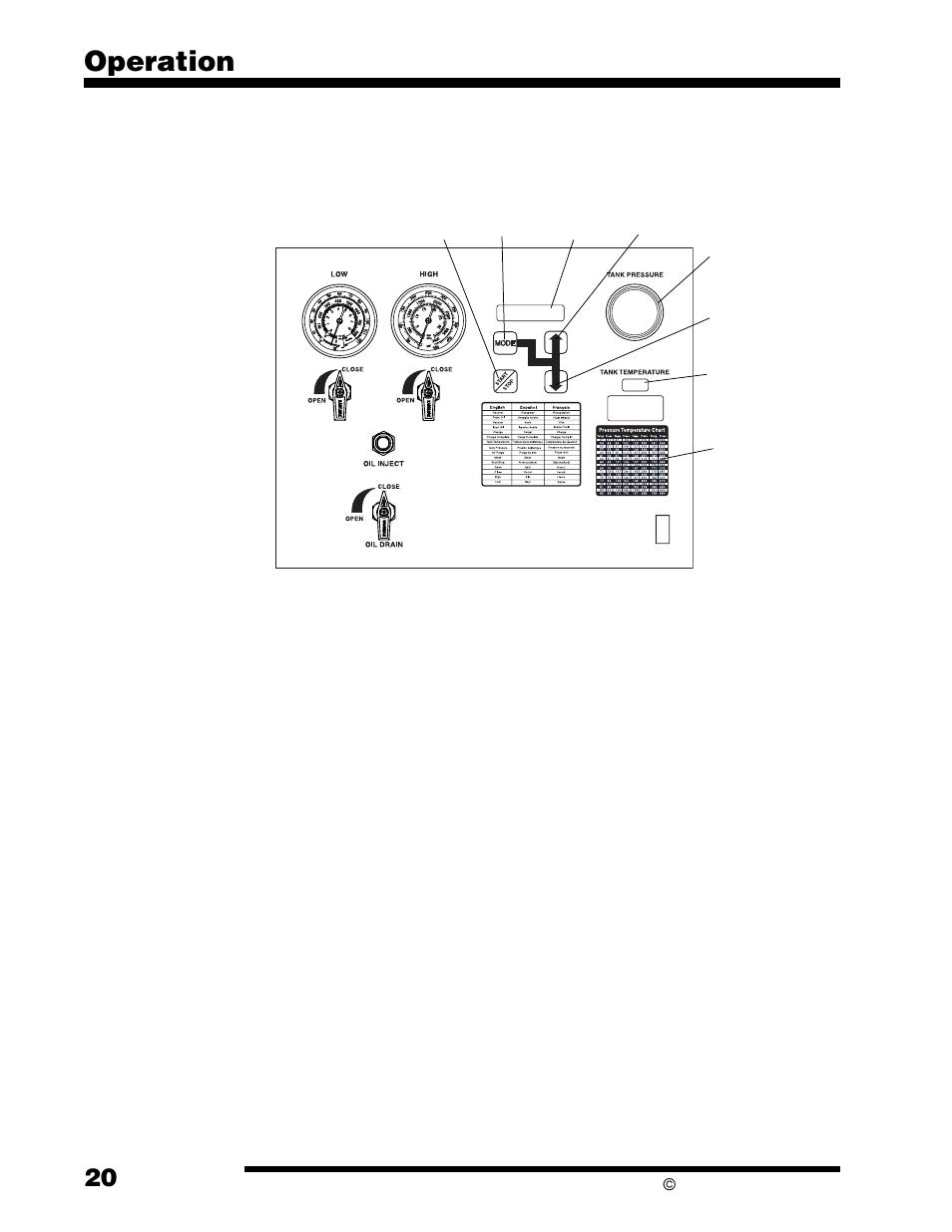 operation purging air from the internal storage vessel robinair rh manualsdir com Robinair 34788 Parts List spx robinair cooltech 700 manual