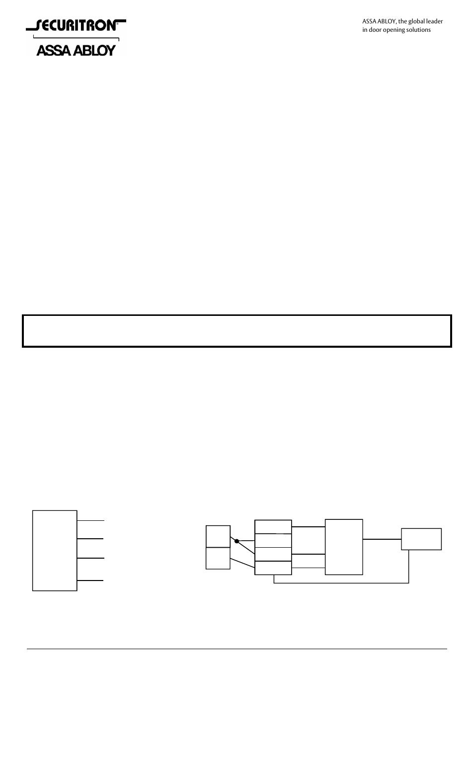 [DIAGRAM_3NM]  Securitron EEB3N User Manual | 2 pages | Also for: EEB2 | Securitron Wiring Diagrams |  | Manuals Directory