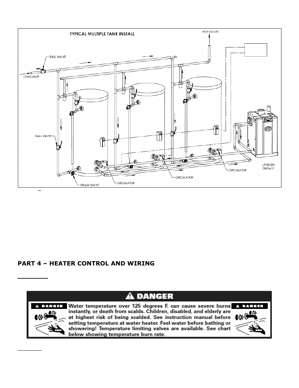Part 4 Heater Control And Wiring A Htp Superstor Ultra Water B