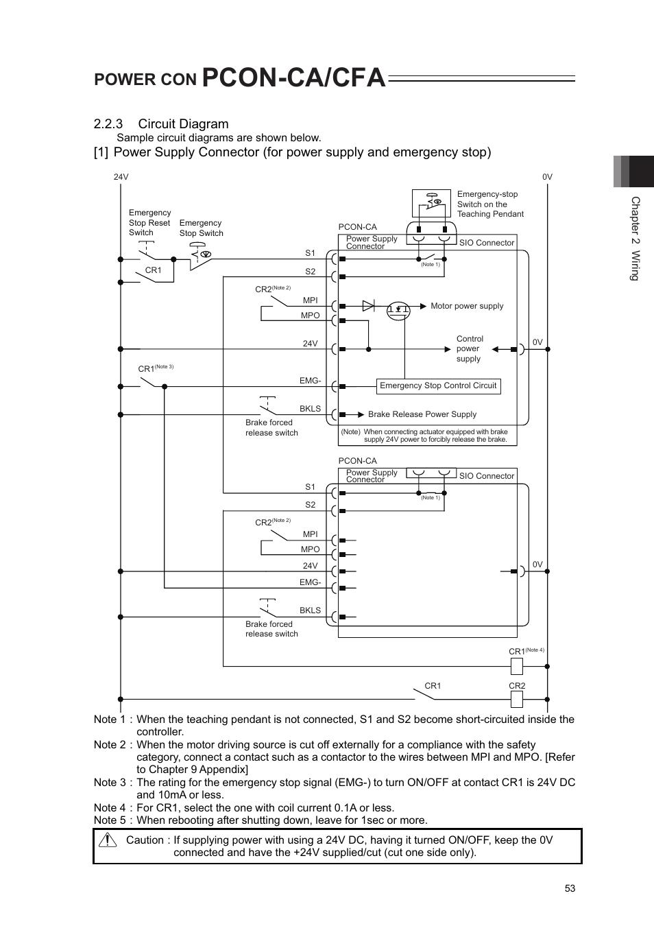 Pcon Ca Cfa Power Con 3 Circuit Diagram Iai America User Pc Supply Wiring Manual Page 61 296