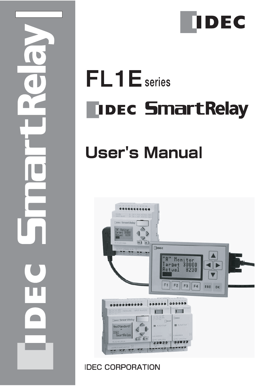 Idec Fl1e Smartrelay User Manual 356 Pages Relay Wiring