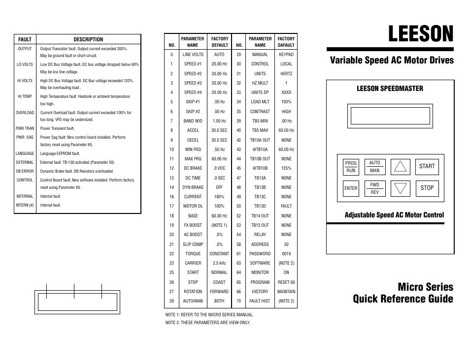 20 Series Micro Manual Guide