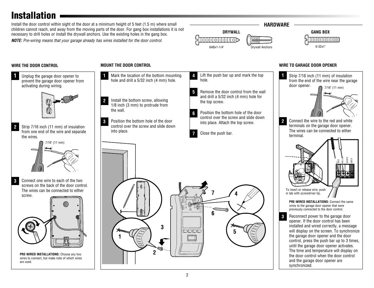 Liftmaster 880lm Smart Control Panel User Manual Manual Guide