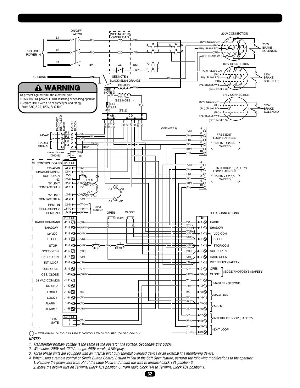Three Phase Wiring Diagram