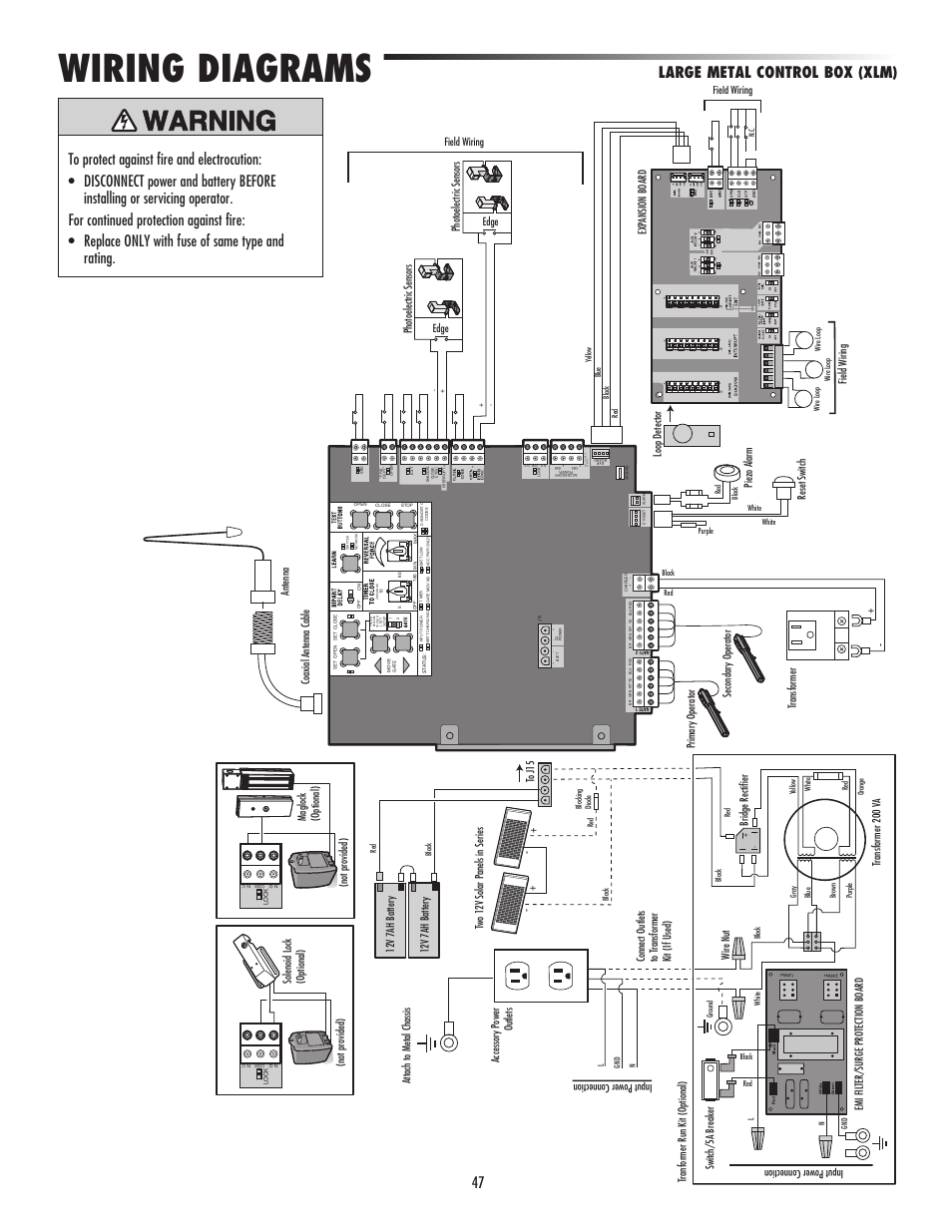 lift master 850lm receiver wiring schematic
