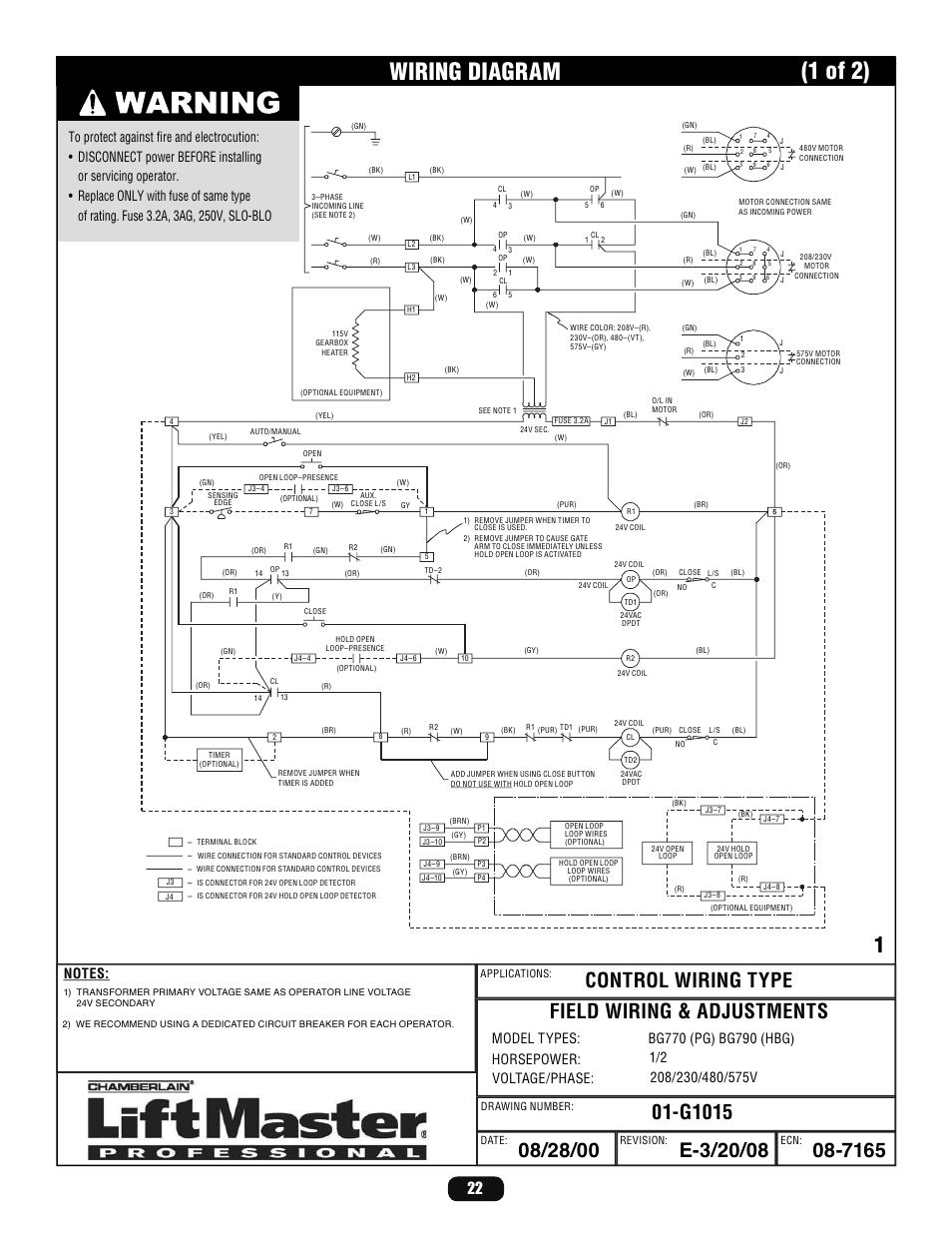 Liftmaster Professional Gate Wiring Diagram - WIRING DIAGRAMS • on lift pump diagram, lift parts diagram, lift accessories, lift motor diagram, lift switch diagram,
