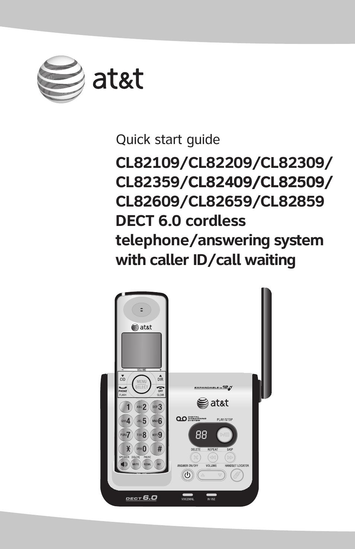 at t cl82209 user manual 9 pages rh manualsdir com Corvette Owners Manual Operators Manual