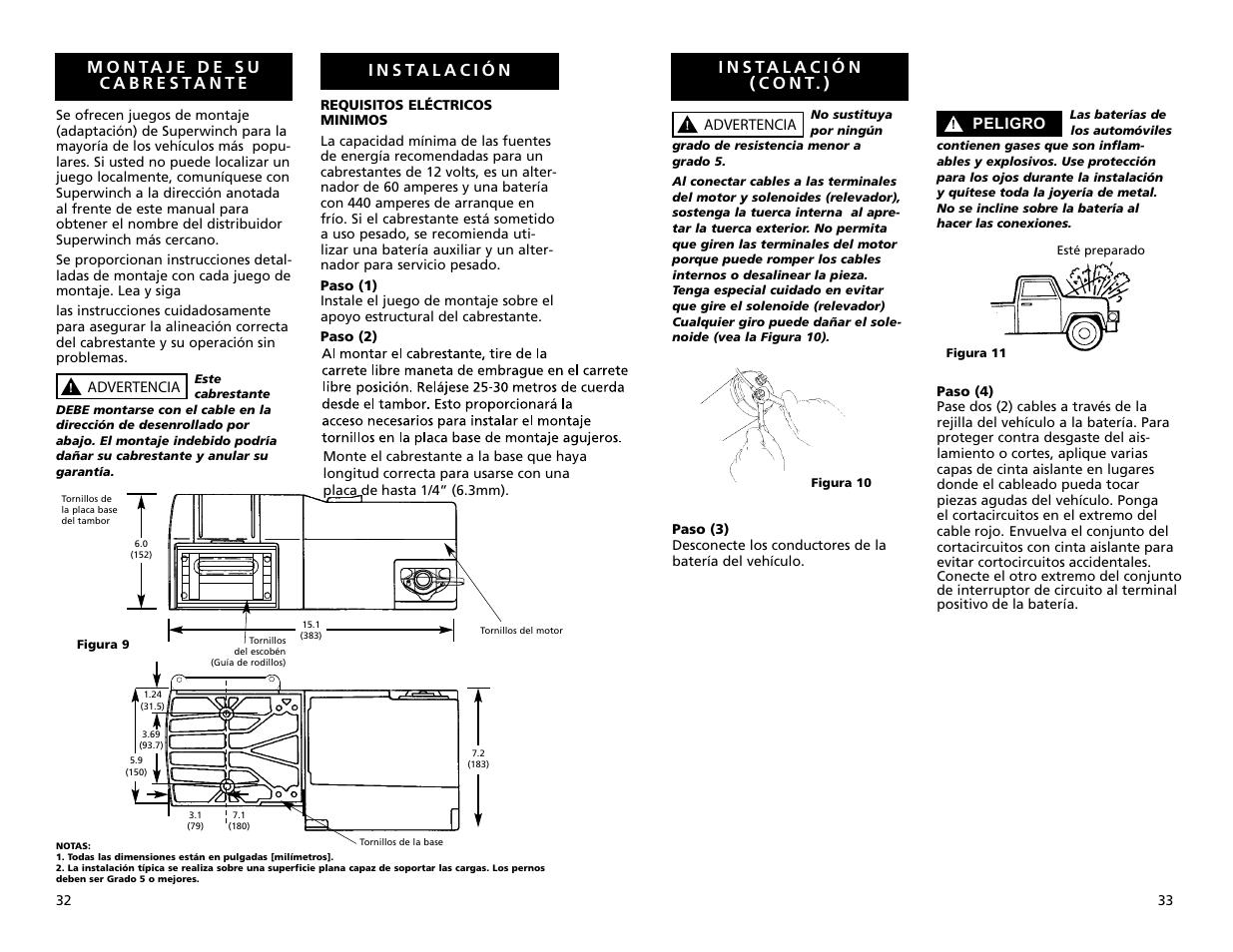 superwinch s4000 1 814 kgs 12v user manual page 17 33 rh manualsdir com
