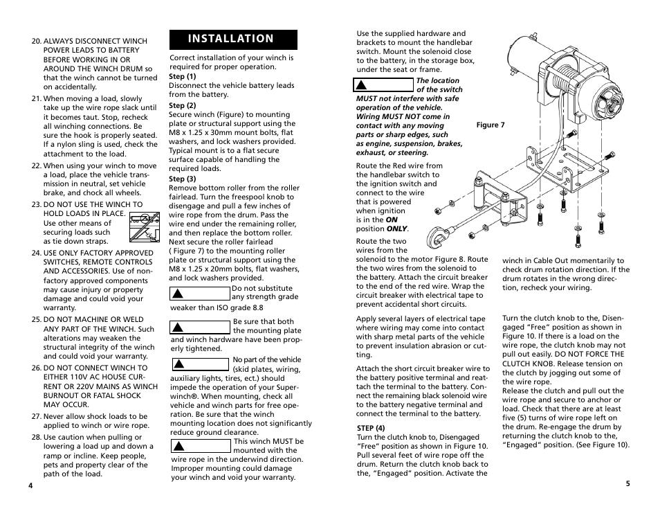 installation superwinch lt3000 atv 1 360 kgs 12v user manual rh manualsdir com