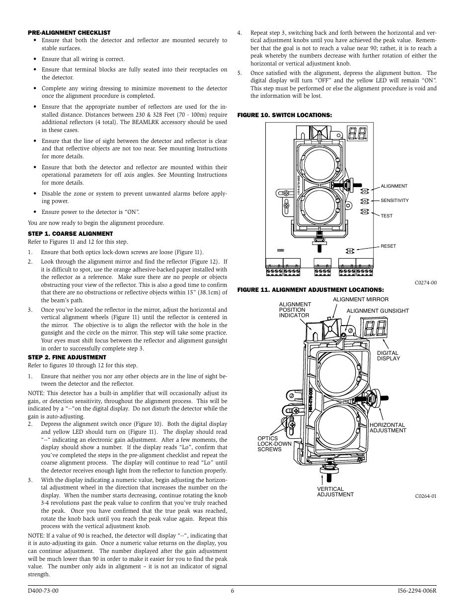 System Sensor Beam1224  Beam1224s User Manual