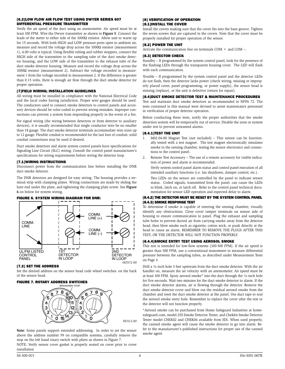 System Sensor DNR User Manual | Page 4 / 6