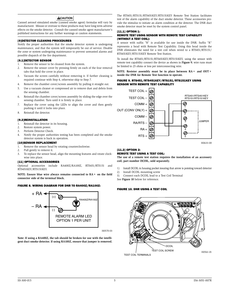 system sensor dnr page5 ra ra system sensor dnr user manual page 5 6 rts451 wiring diagram at webbmarketing.co