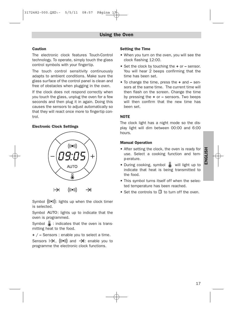 Using The Oven Teka Hl 830 User Manual Page 17 34