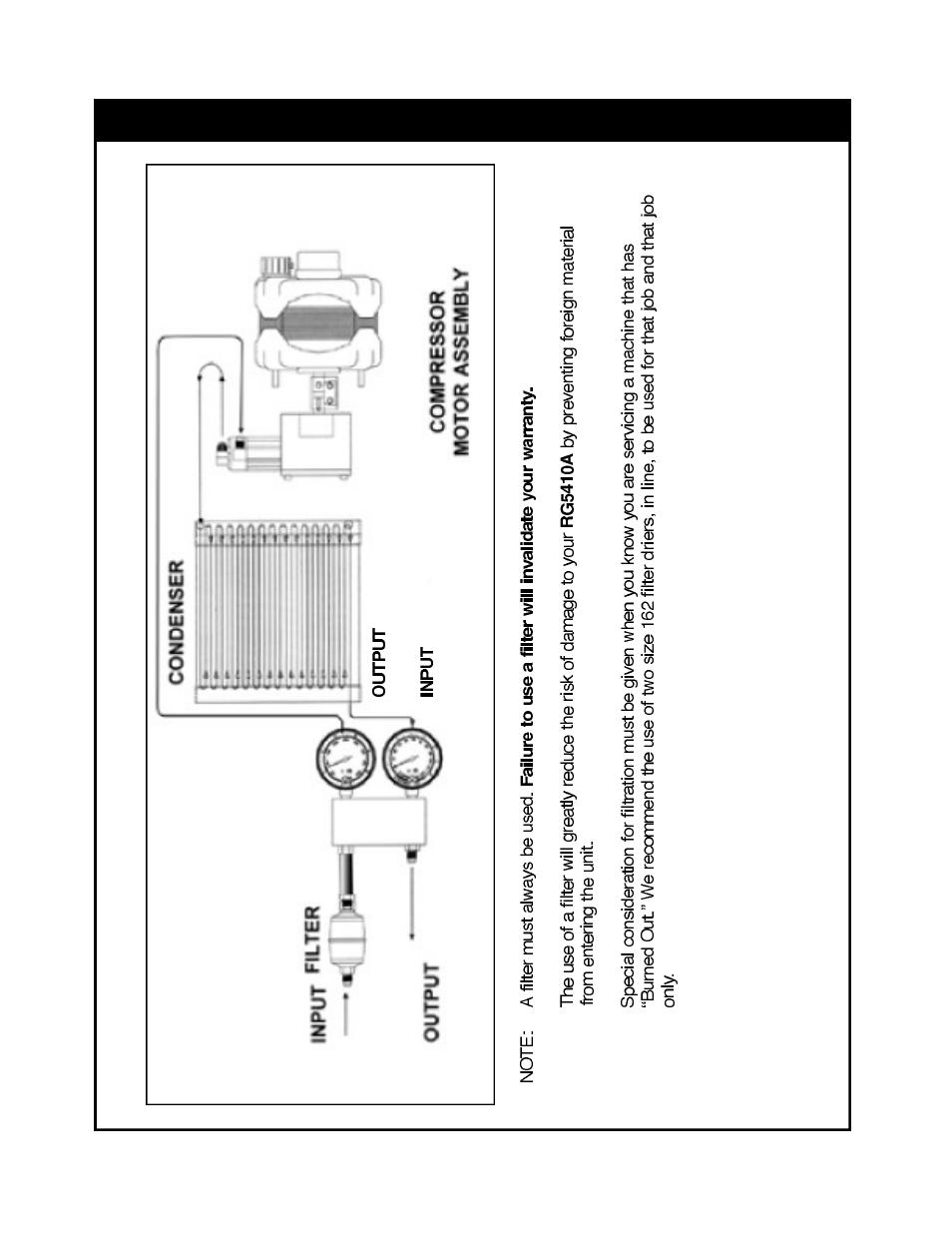 Refrigerant flow diagram | TIF RG5410A Refrigerant Recovery Machine User  Manual | Page 15 / 23
