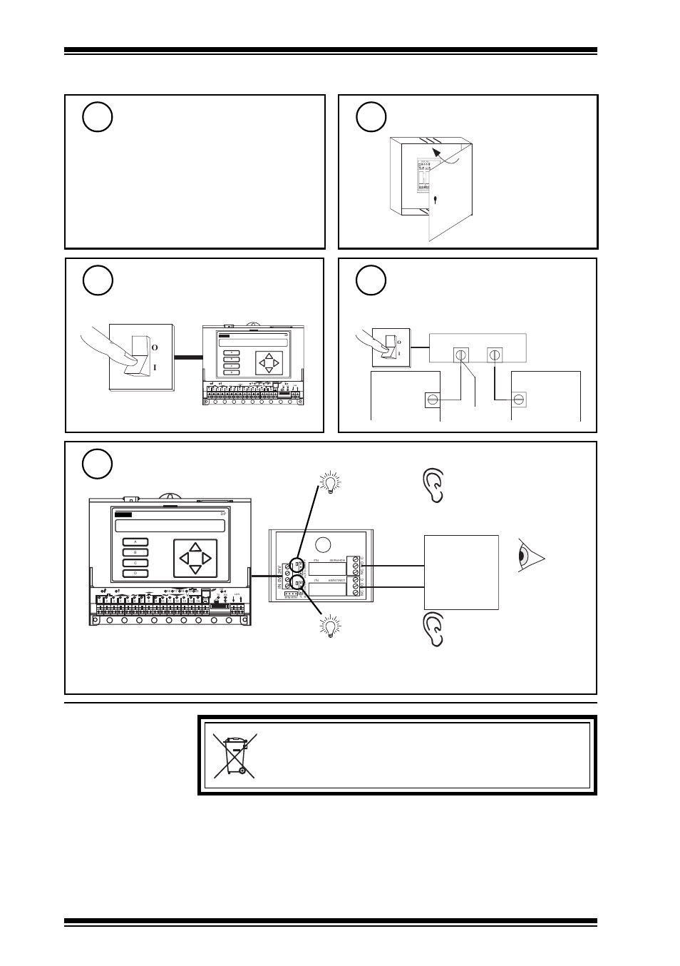Weee Directive 2rm 24vac Installation Instructions 3installation Power Relay Explained 4disposal Close Panel