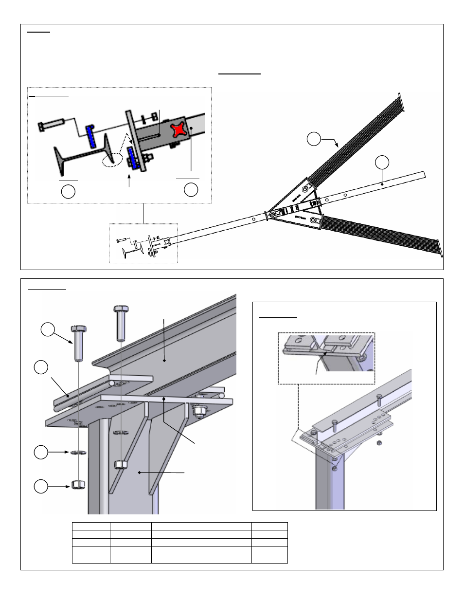 Vestil Aha User Manual Page 19 25 Beam Bridge Diagram