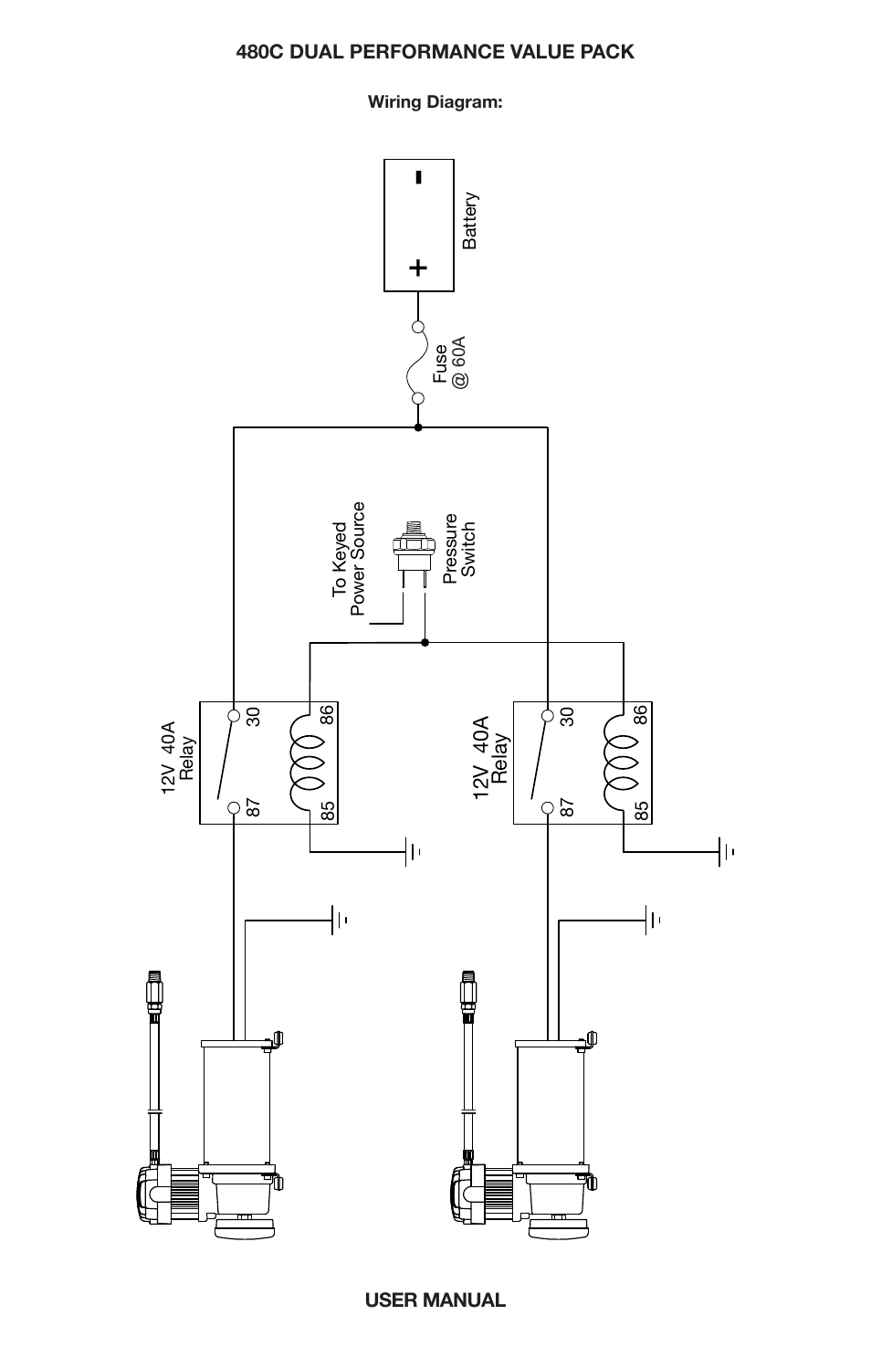 "[SCHEMATICS_48DE]  Dual ""c"" model compressor wiring diagram 