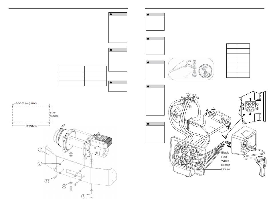 Warn M15000 User Manual