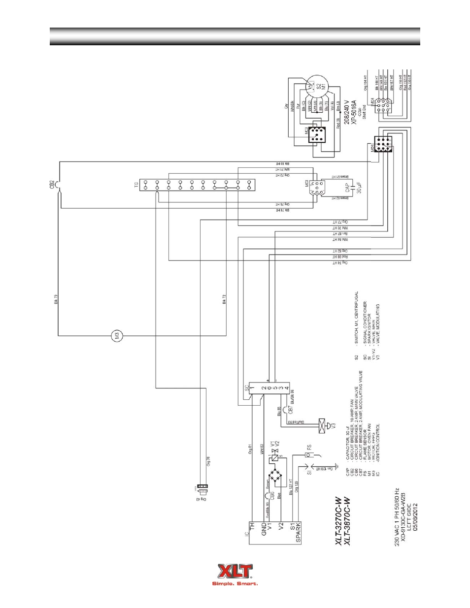 Contro Gas Oven Wiring Diagram Simple Options Robert S Schematic World Xlt Xd 9006a Version C Avi Appliance Connection