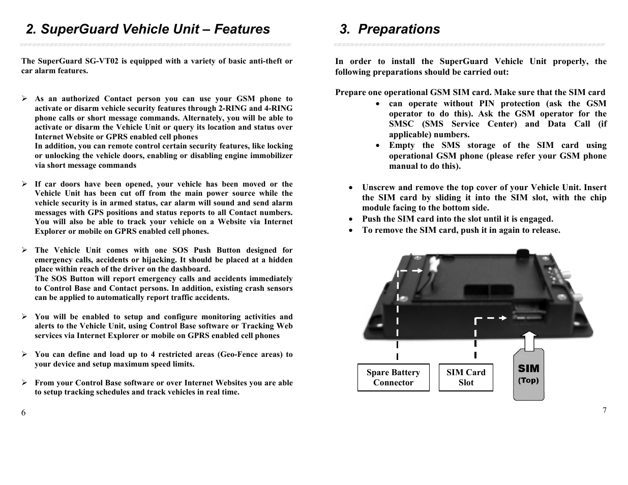 superguard vehicle unit features preparations apm sg vt02 qb rh manualsdir com apm user manual apm user manual