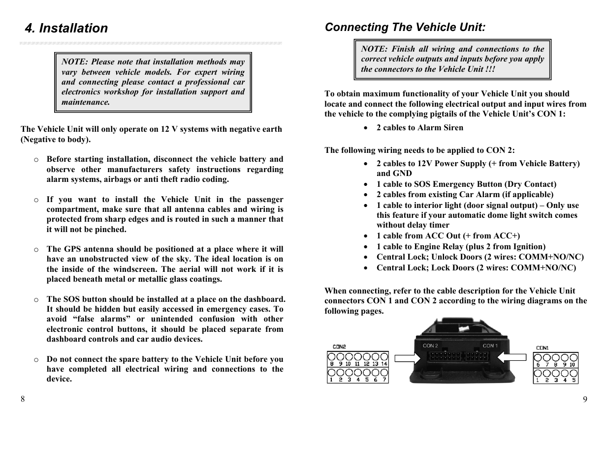 installation connecting the vehicle unit apm sg vt02 qb user rh manualsdir com apm 2.6 user manual apm user guide