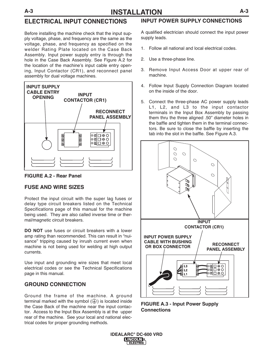 Diagram Welding Machine Dc 600 Schematics For Installation Electrical Input Connections Lincoln Electric Power Supply Schematic
