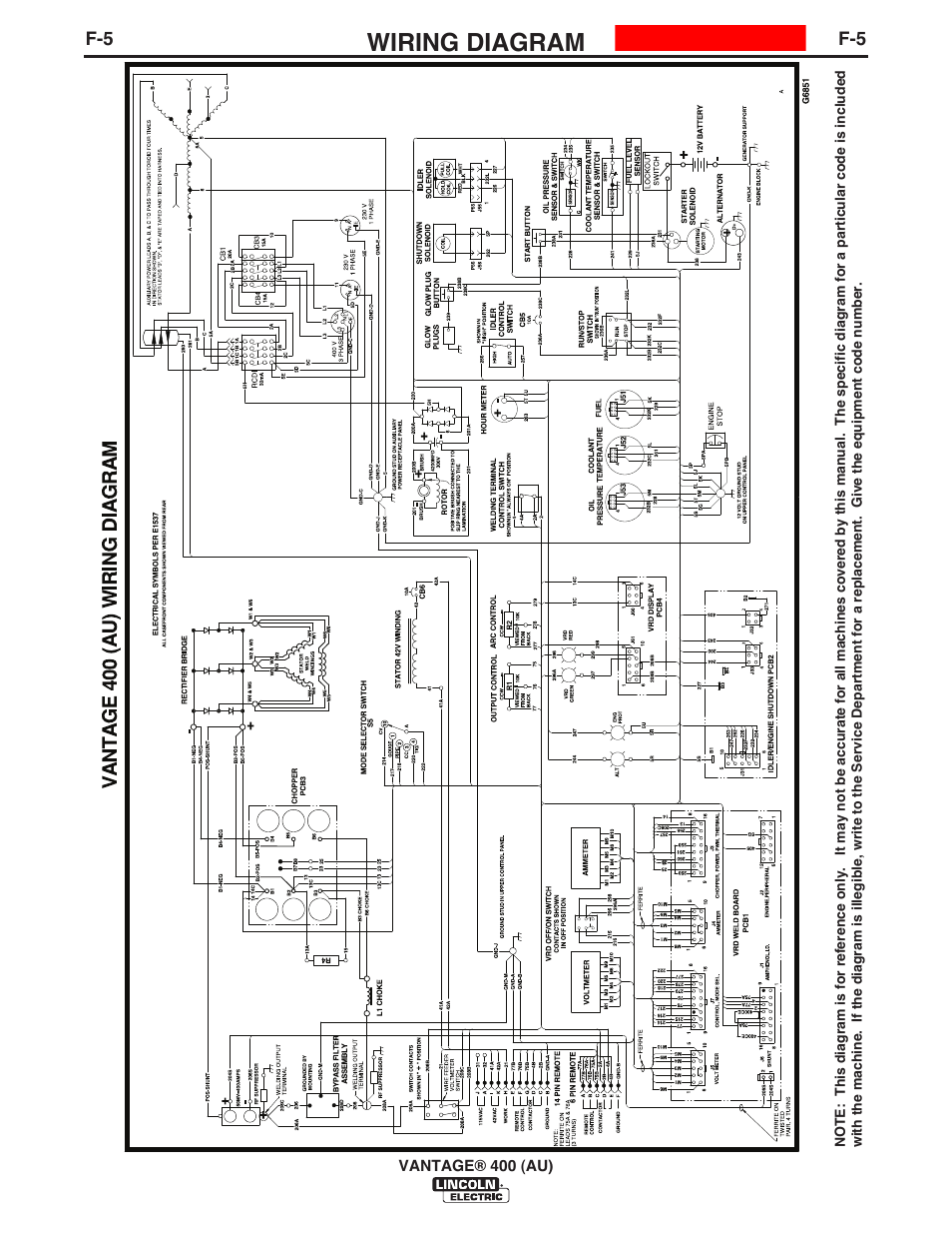 Lincoln Vantage 575 Wiring Diagram Library Electric Welder Free Picture Circuit Symbols U2022 Unicell
