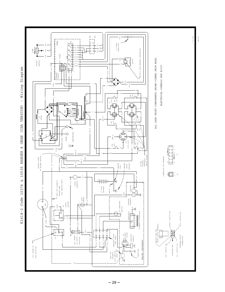 electrical symbols per e1537 all case front components shown viewed rh manualsdir com lincoln ranger 8 welder wiring diagram 2010 Ford Ranger Wiring Diagram
