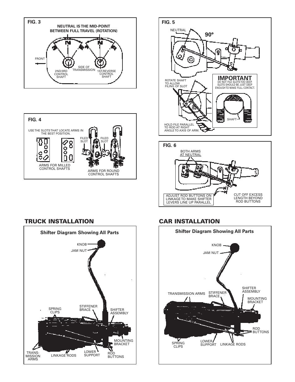 Truck Installation  Important  Car Installation