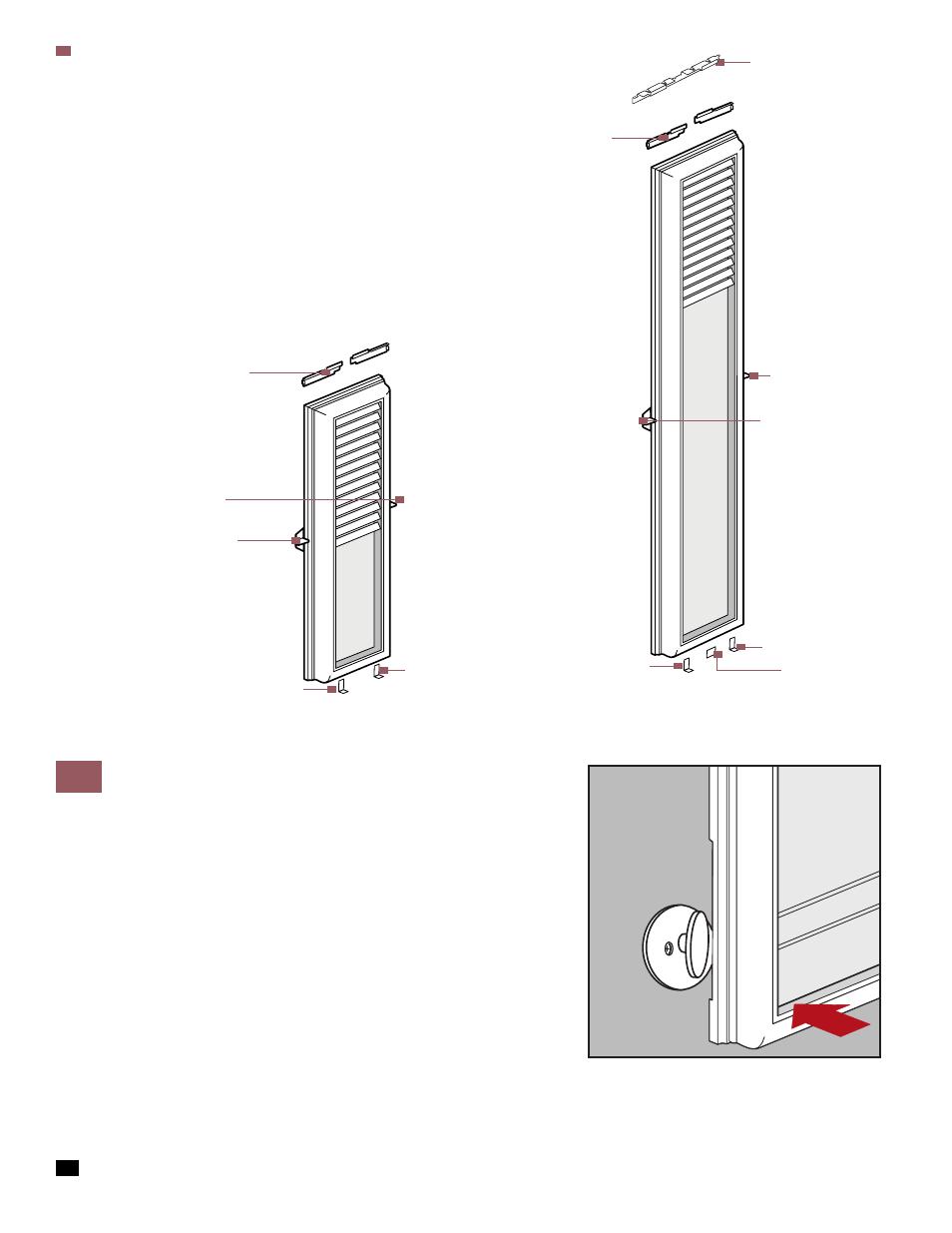 Blind Door Hardware Bt39 Roccommunity