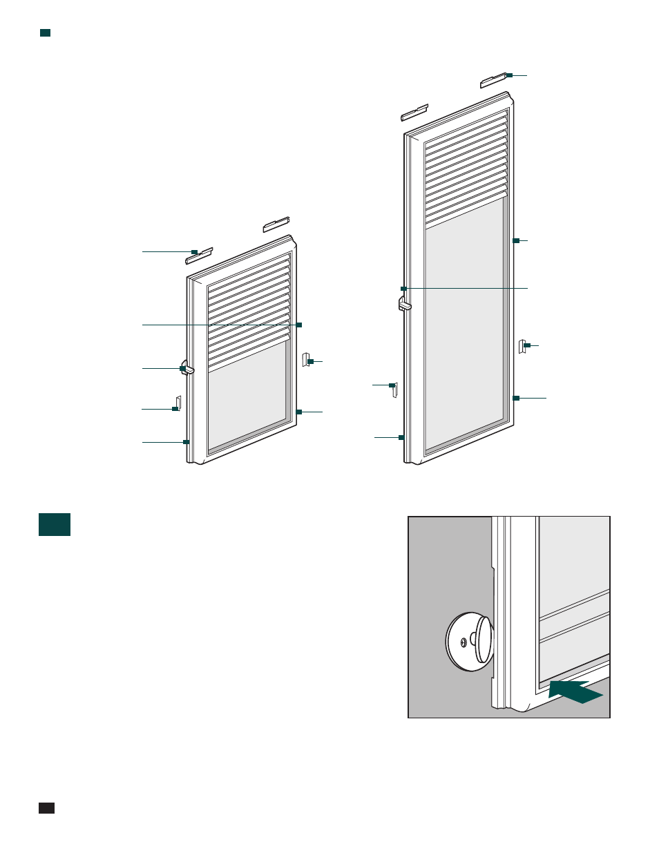 Does it fit, Door hardware interference | ODL Add-on/DIY Blinds ...