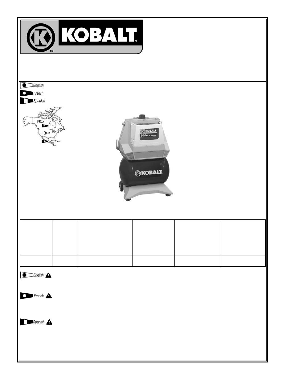 Powermate VPK0880803 User Manual | 24 pages | Original mode